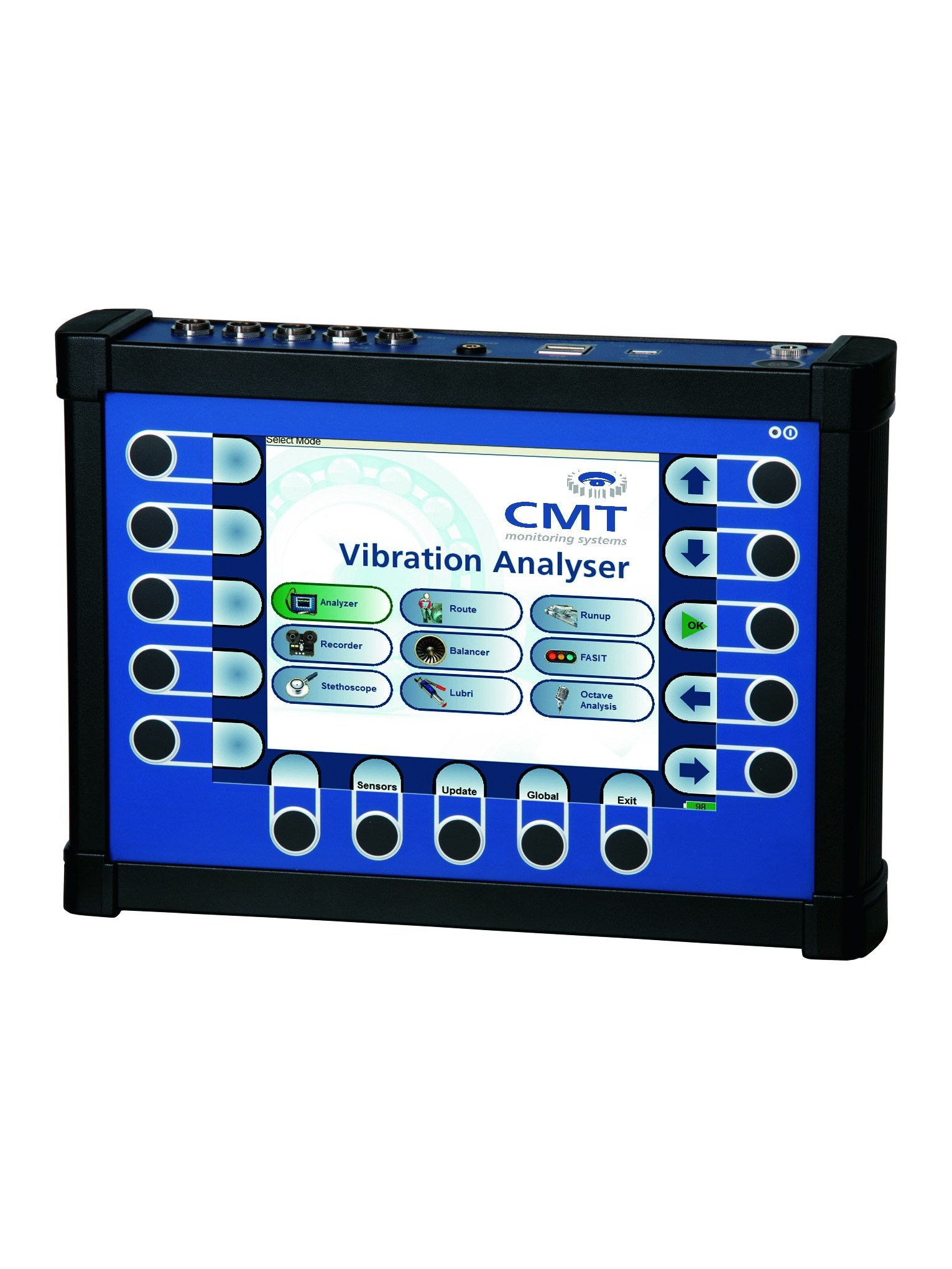 Vibration analysis condition monitoring technologies cmt for Pocket pro cmt